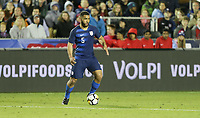 Cary, N.C. - Tuesday March 27, 2018: Cameron Carter-Vickers during an International friendly game between the men's national teams of the United States (USA) and Paraguay (PAR) at Sahlen's Stadium at WakeMed Soccer Park.