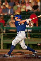 April 22 2010: Josh Vitters (6) of the Daytona Beach Cubs during a game vs. the Tampa Yankees at Jackie Robinson Ballpark in Daytona Beach, Florida. Daytona, the Florida State League High-A affiliate of the Chicago Cubs, won the game against Tampa, affiliate of the New York Yankees, by the score of 9-6.  Photo By Scott Jontes/Four Seam Images