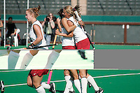 STANFORD, CA - OCTOBER 19:  Chloe Bade of the Stanford Cardinal during Stanford's 12-0 win over UC Davis on October 19, 2008 at the Varsity Field Hockey Turf in Stanford, California.