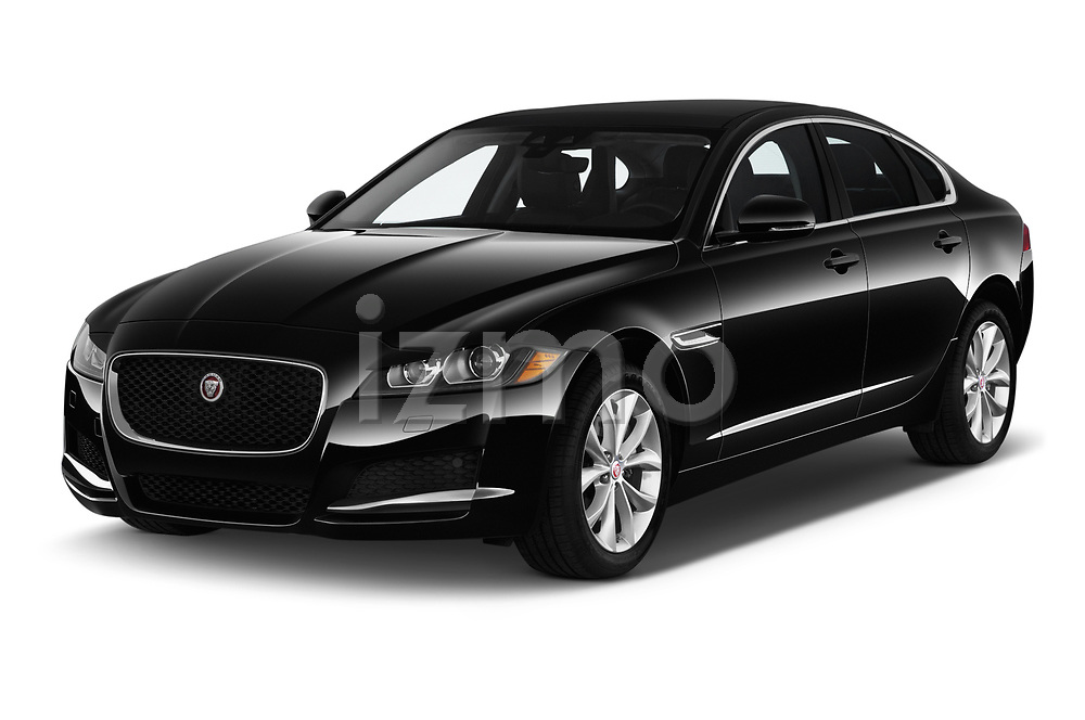 2020 Jaguar XF Premium 4 Door Sedan angular front stock photos of front three quarter view