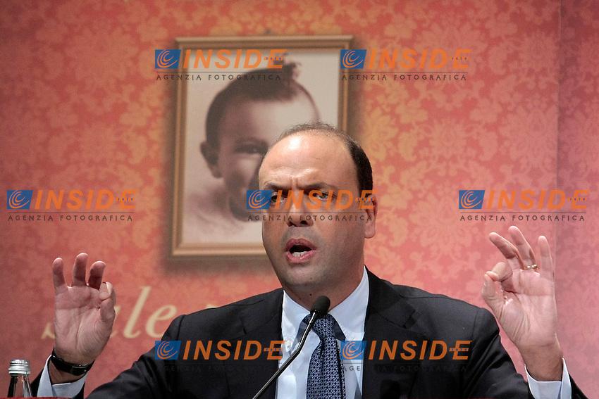 Angelino Alfano<br /> Roma 18/12/2013 Presentazione del libro Sale, Zucchero e Caffe'.<br /> Photo Samantha Zucchi Insidefoto