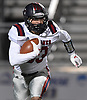Nick LiCalzi #33 of South Side picks up yards during the Nassau County football Conference III semifinals against Wantagh at Shuart Stadium in Hempstead on Saturday, Nov. 10, 2018.