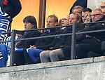 16.03.2019, OLympiastadion, Berlin, GER, DFL, 1.FBL, Hertha BSC VS. Borussia Dortmund, <br /> DFL  regulations prohibit any use of photographs as image sequences and/or quasi-video<br /> <br /> im Bild Jogi Loew, Juergen Klinsmann, Berti Vogts<br /> <br />       <br /> Foto © nordphoto / Engler