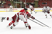 Michael Floodstrand (Harvard - 44), Zach Schroeder (RPI - 7) - The Harvard University Crimson defeated the visiting Rensselaer Polytechnic Institute Engineers 5-2 in game 1 of their ECAC quarterfinal series on Friday, March 11, 2016, at Bright-Landry Hockey Center in Boston, Massachusetts.