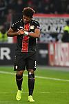 08.11.2018, BayArena, Leverkusen, Europaleque, Vorrunde, GER, UEFA EL, Bayer 04 Leverkusen (GER) vs. FC Zuerich (SUI),<br />  <br /> DFL regulations prohibit any use of photographs as image sequences and/or quasi-video<br /> <br /> im Bild / picture shows: <br /> Leon Bailey (Leverkusen #9), verletzt fasst sich an die Brust <br /> <br /> Foto &copy; nordphoto / Meuter<br /> <br /> <br /> <br /> Foto &copy; nordphoto / Meuter
