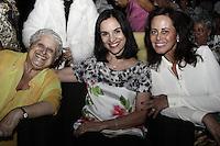 ATENCAO EDITOR: FOTO EMBARGADA PARA VEICULOS INTERNACIONAIS <br />  SAO PAULO, SP, 23 DE OUTUBRO, 2012  -  CONCURSO MISS E MISTER 3ª IDADE DO ESTADO DE SAO PAULO - Primeira Dama, Lu Alckmin e Sra Marlene Campos Machado, compareceram a 19ª edição do  Concurso Miss e Mister 3ª idade do Estado de São Paulo, que aconteceu na tarde dessa terça-feira, 23 - Memorial da America Latina, Barra Funda, zona oeste da capital - FOTO: LOLA OLIVEIRA-BRAZIL PHOTO PRESS