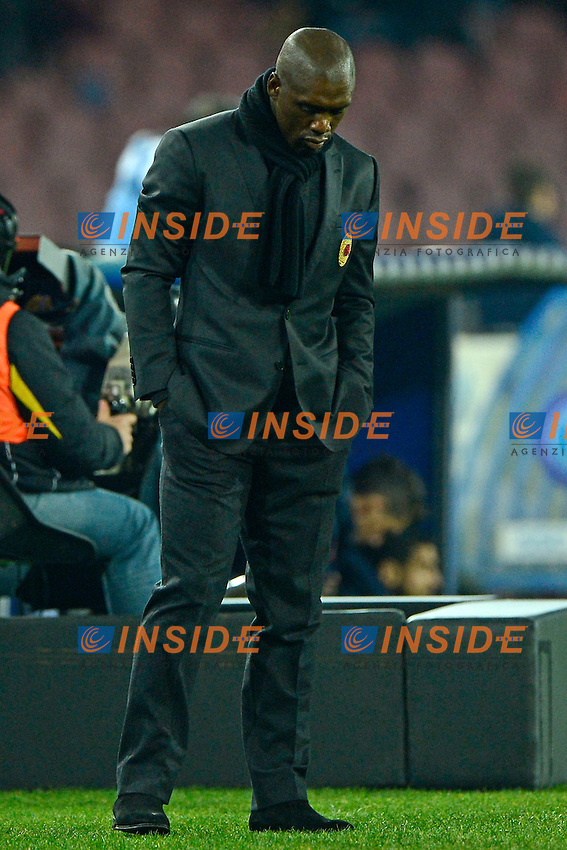 Clarence Seedorf Milan<br /> Napoli 08-02-2014 Stadio San Paolo - Football 2013/2014 Serie A. Napoli - Milan Foto Insidefoto