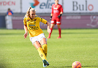 20190813 - DENDERLEEUW, BELGIUM : LSK's Nora Marie Egenes pictured during the female soccer game between the Greek PAOK Thessaloniki Ladies FC and the Norwegian LSK Kvinner Fotballklubb Ladies , the third and final game for both teams in the Uefa Womens Champions League Qualifying round in group 8 , Tuesday 13 th August 2019 at the Van Roy Stadium in Denderleeuw  , Belgium  .  PHOTO SPORTPIX.BE for NTB | DAVID CATRY