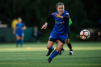 Seattle, Washington -  Saturday April 22, 2017: Christine Nairn during a regular season National Women's Soccer League (NWSL) match between the Seattle Reign FC and the Houston Dash at Memorial Stadium.