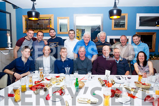 Staff of the ESB Tralee depot enjoying their Christmas Party in Benners Hotel, Tralee on Friday night last.