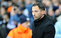 FC Schalke 04 manager Domenico Tedesco <br /> <br /> Photographer Rich Linley/CameraSport<br /> <br /> UEFA Champions League Round of 16 Second Leg - Manchester City v FC Schalke 04 - Tuesday 12th March 2019 - The Etihad - Manchester<br />  <br /> World Copyright &copy; 2018 CameraSport. All rights reserved. 43 Linden Ave. Countesthorpe. Leicester. England. LE8 5PG - Tel: +44 (0) 116 277 4147 - admin@camerasport.com - www.camerasport.com