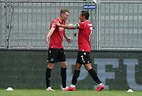 celebrate the goal, Torjubel zum 1:2 Marvin Duksch (Hannover 96) mit Edgar Prib (Hannover 96)<br /> <br /> - 14.06.2020: Fussball 2. Bundesliga, Saison 19/20, Spieltag 31, SV Darmstadt 98 - Hannover 96, emonline, emspor, <br /> <br /> Foto: Marc Schueler/Sportpics.de<br /> Nur für journalistische Zwecke. Only for editorial use. (DFL/DFB REGULATIONS PROHIBIT ANY USE OF PHOTOGRAPHS as IMAGE SEQUENCES and/or QUASI-VIDEO)