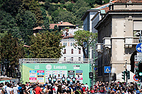 Team Bora-Hansgrohe at the start in Bergamo<br /> <br /> 114th Il Lombardia 2020 (1.UWT)<br /> 1 day race from Bergamo to Como (ITA/231km) <br /> <br /> ©kramon