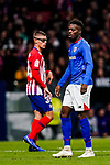 Inaki Williams Arthuer of Athletic de Bilbao looks on during the La Liga 2018-19 match between Atletico de Madrid and Athletic de Bilbao at Wanda Metropolitano, on November 10 2018 in Madrid, Spain. Photo by Diego Gouto / Power Sport Images
