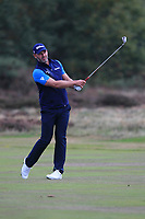 Paul Waring (ENG) on the 13th fairway during Round 1of the Sky Sports British Masters at Walton Heath Golf Club in Tadworth, Surrey, England on Thursday 11th Oct 2018.<br /> Picture:  Thos Caffrey | Golffile<br /> <br /> All photo usage must carry mandatory copyright credit (© Golffile | Thos Caffrey)