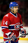 17 October 2009: Montreal Canadiens center Tomas Plekanec warms up prior to facing the Ottawa Senators at the Bell Centre in Montreal, Quebec, Canada. The Senators defeated the Canadiens 3-1. Mandatory Credit: Ed Wolfstein Photo