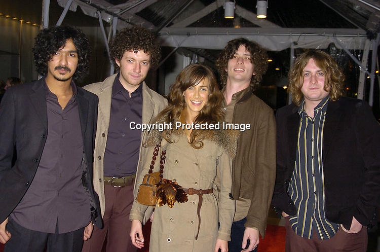 Singing Group The Zutons..at the Re-opening party  for The Museum of Modern Art on ..November 18, 2004 in New York City. ..Photo by Robin Platzer, Twin Images