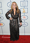 Anastacia arriving at the Clive Davis 2014 Pre-Grammy Gala, held at The Beverly Hilton Hotel on January 25, 2014.