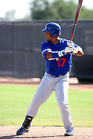 Jaime Ortiz / Los Angeles Dodgers 2008 Instructional League..Photo by:  Bill Mitchell/Four Seam Images
