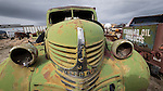 Shooting the West XXVI, Winnemucca, Nev.<br /> <br /> Cars, trucks, tractors, junk, rust, grills at the Walt Curtis Ranch, Winnemucca