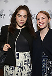 "Chloe Kent and Kate Robards attending the Opening Night Performance for The Vineyard Theatre production of  ""Do You Feel Anger?"" at the Vineyard Theatre on April 2, 2019 in New York City."