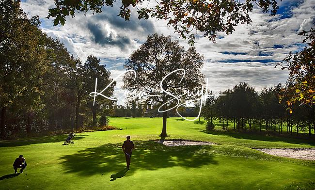 HEERENVEEN - Golfbaan-  Hole 3 en 12 van Golfclub Heidemeer in Heerenveen. COPYRIGHT KOEN SUYK