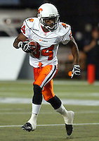 Aaron Lockett BC Lions. Copyright photograph Scott Grant
