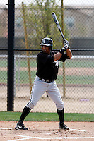 Jordan Cheatham  -  Chicago White Sox - 2009 spring training.Photo by:  Bill Mitchell/Four Seam Images