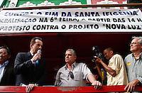 SÃO PAULO,SP,24 AGOSTO 2012 - ELEIÇOES - O candidato  a prefeitura de São Paulo Celso Russomanno esteve na tarde de hoje na região da Santa efigenia falando com moradore e comerciantes.FOTO ALE VIANNA/BRAZIL PHOTO PRESS.