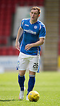 St Johnstone FC Season 2015-16<br /> Liam Craig<br /> Picture by Graeme Hart.<br /> Copyright Perthshire Picture Agency<br /> Tel: 01738 623350  Mobile: 07990 594431