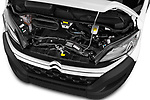 Car stock 2017 Citroen Jumper Combi Confort 4 Door Combi engine high angle detail view