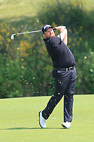 Shane Lowry (IRL) on the 1st fairway during Round 4 of the HNA Open De France at Le Golf National in Saint-Quentin-En-Yvelines, Paris, France on Sunday 1st July 2018.<br /> Picture:  Thos Caffrey | Golffile