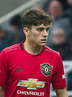 Daniel James of Man Utd during the Premier League match between Newcastle United and Manchester United at St. James's Park, Newcastle, England on 6 October 2019. Photo by J GILL / PRiME Media Images.