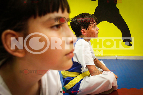 The right side of Hector 's face turned very concerned with the day care fire June 5, 2009 in Hermosillo, Sonora.<br />
