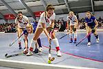 Lisa Mayerhoefer #17 of Mannheimer HC, Kira Elena Schanzenbecher #41 of TSV Mannheim beim Spiel der Hockey Bundesliga Damen, TSV Mannheim (hell) - Mannheimer HC (dunkel).<br /> <br /> Foto © PIX-Sportfotos *** Foto ist honorarpflichtig! *** Auf Anfrage in hoeherer Qualitaet/Aufloesung. Belegexemplar erbeten. Veroeffentlichung ausschliesslich fuer journalistisch-publizistische Zwecke. For editorial use only.
