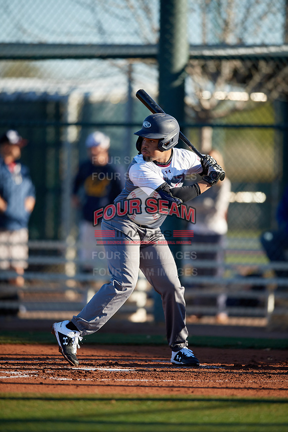 Noah Bennett during the Under Armour All-America Tournament powered by Baseball Factory on January 18, 2020 at Sloan Park in Mesa, Arizona.  (Mike Janes/Four Seam Images)