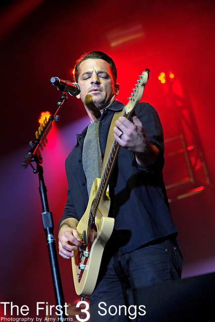 Marc Roberge of O.A.R. performs during Day 1 of the Orlando Calling music festival at Citrus Bowl Park in Orlando, Florida on November 12, 2011.