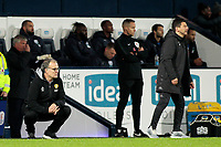 Leeds United manager Marcelo Bielsa  cuts a dejected figure on the touchline<br /> <br /> Photographer David Shipman/CameraSport<br /> <br /> The EFL Sky Bet Championship - West Bromwich Albion v Leeds United - Saturday 10th November 2018 - The Hawthorns - West Bromwich<br /> <br /> World Copyright © 2018 CameraSport. All rights reserved. 43 Linden Ave. Countesthorpe. Leicester. England. LE8 5PG - Tel: +44 (0) 116 277 4147 - admin@camerasport.com - www.camerasport.com