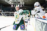 Stockholm 2014-01-18 Ishockey SHL AIK - F&auml;rjestads BK :  <br /> F&auml;rjestads Christian Berglund har gjort 2-0 och jublar med lagkamrater<br /> (Foto: Kenta J&ouml;nsson) Nyckelord:  jubel gl&auml;dje lycka glad happy