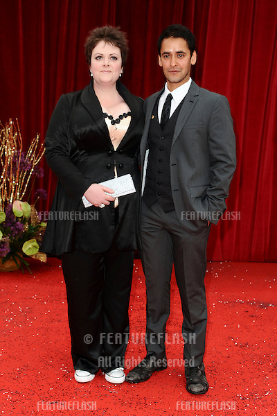 Lu Corfield arrives at the British Soap awards 2011 held at the Granada Studios, Manchester..14/05/2011  Picture by Steve Vas/Featureflash