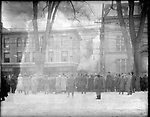 Frederick Stone negative. Lewis Building Fire 1910.