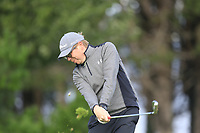 Andrew Adair (Clandeboye)  during the final of the Irish Mid-Amateur Open Championship, Royal Belfast Golf CLub, Hollywood, Down, Ireland. 29/09/2019.<br /> Picture Fran Caffrey / Golffile.ie<br /> <br /> All photo usage must carry mandatory copyright credit (© Golffile   Fran Caffrey)