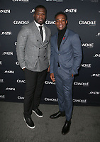 07 March 2018 - Culver City, California - Curtis &quot;50 Cent&quot; Jackson, Arlen Escarpeta. &quot;The Oath&quot; TV Series Los Angeles Premiere held at Sony Pictures Studios.   <br /> CAP/ADM/FS<br /> &copy;FS/ADM/Capital Pictures