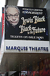 'Lewis Black - Back to the Future' - Theatre Marquee