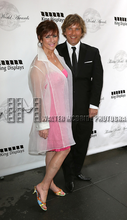 Colleen Zenk attending the 69th Annual Theatre World Awards at the Music Box Theatre in New York City on June 03, 2013.