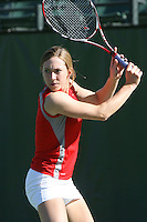 STANFORD, CA - OCTOBER 28:  Carolyn McVeigh during picture day on October 28, 2008 at the Taube Family Tennis Stadium in Stanford, California.