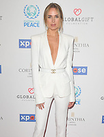 Kimberley Garner at the Football For Peace Initiative Dinner by Global Gift Foundation, Corinthia Hotel, Whitehall Place, London, England, UK, on Monday 08th April 2019.<br /> CAP/CAN<br /> &copy;CAN/Capital Pictures