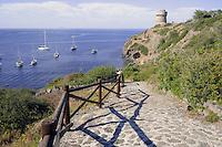 - Capraia island (Tuscan Archipelago), the Genoese tower<br /> <br /> - isola di Capraia (Arcipelago Toscano), la torre genovese