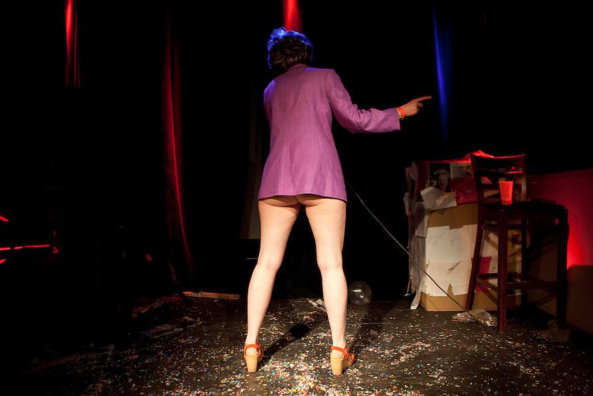 Laryssa Husiak   Pussy Faggot: Gay Shame Revival   NY, NY   2011