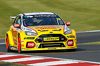 Round 10 of the 2018 British Touring Car Championship.  #20 James Cole. Team Shredded Wheat Racing with Gallagher. Ford Focus RS.